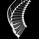 накладные проступи на лестнице
